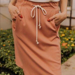 becky drawstring skirt